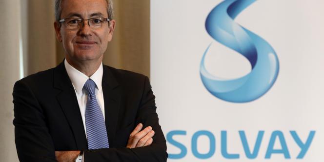 « La transition énergétique peut être un levier de performance écologique et économique », assure Jean-Pierre Clamadieu, patron du chimiste Solvay et président du groupe de travail énergie de l'AFEP.