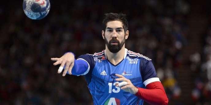 Nikola Karabatic, ici le 5 janvier à Paris-Bercy face au Danemark lors de la Golden League.