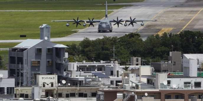 La base américaine de Futenma sur l'île d'Okinawa au Japon, en août 2012.