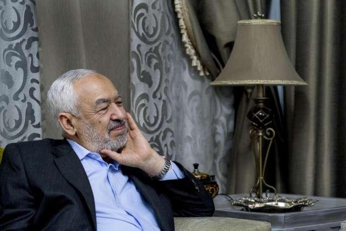 Rached Ghannouchi, le 13 janvier à Tunis.