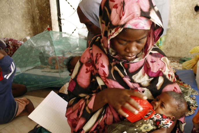 Dans un centre géré par Action contre la faim, à Mogadiscio (Somalie), en 2011.