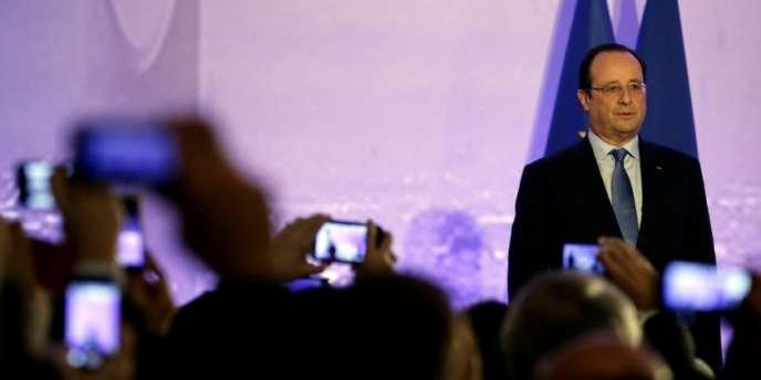 François Hollande dans la capitale saoudienne, le 29 décembre.