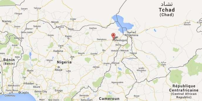 Le nord-est du Nigeria, zone d'influence du groupe islamiste Boko Haram.