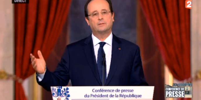Lors de la troisième conférence de presse de son quinquennat, François Hollande a déclaré être un « social-démocrate ».