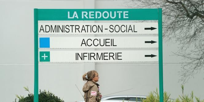 Le site de La Redoute à Wattrelos (Nord) en janvier.