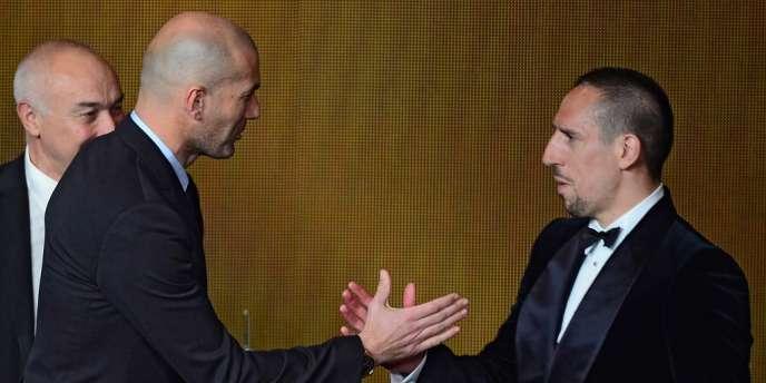 Franck Ribéry ne succédera pas à Zinedine Zidane au palmarès du Ballon d'or.