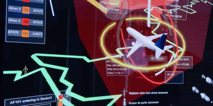 Prototype d'un système intelligent développé par Altran Technologies pour le contrôle aérien.