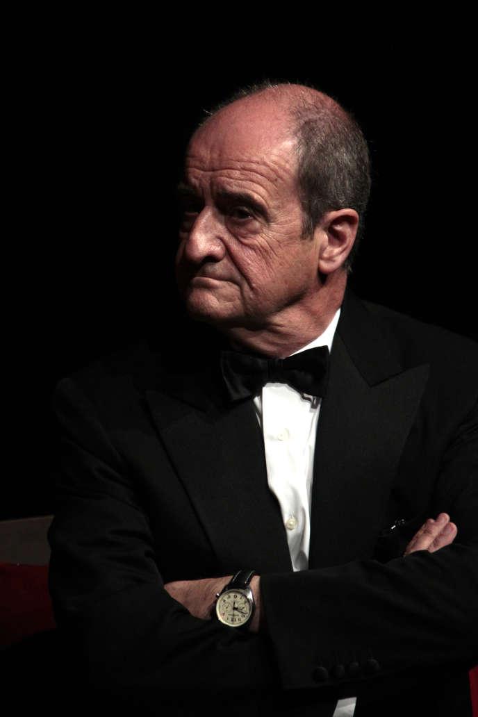 Pierre Lescure au Festival de Deauville, le 7 septembre 2013.