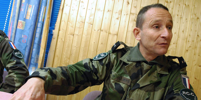 Pierre de Villiers, 57 ans, était le major général des armées depuis trois ans.