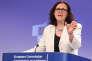 Cecilia Malmström, commissaire européenne chargée du commerce, le 15 janvier, à Bruxelles.