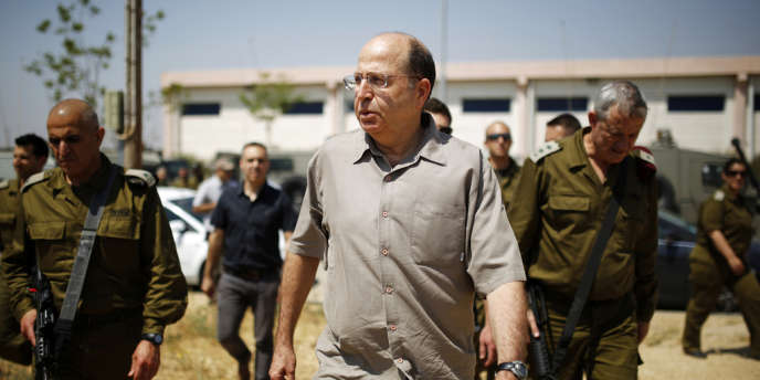 Le ministre de la défense israélien, Moshe Yaalon, en mai 2013.