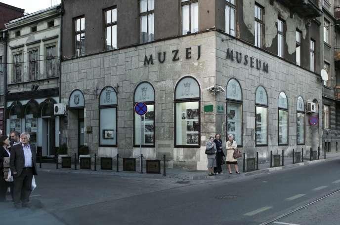Sarajevo, musée national. Lieu de l'assassinat de l'archiduc.