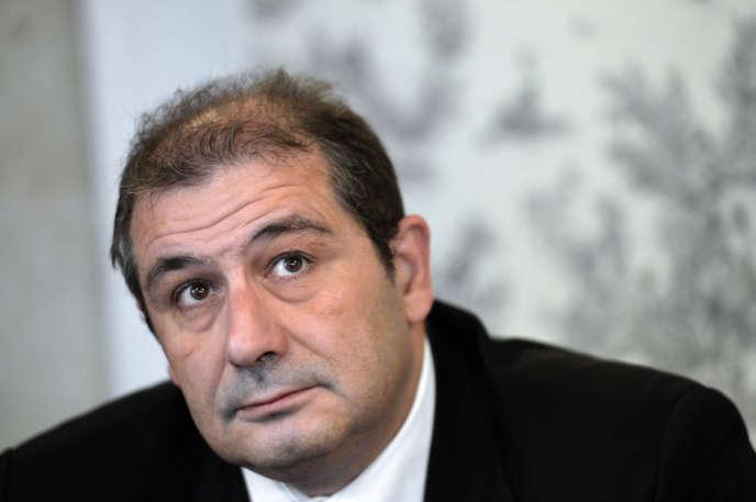 Pascal Cherki, député socialiste de Paris, le 10 septembre 2013.