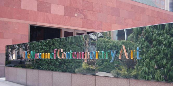 L'entrée du Musée d'art contemporain de Los Angeles (MOCA).