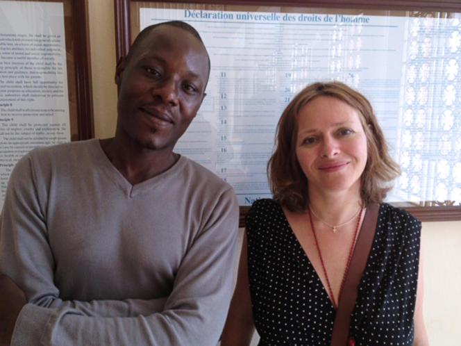Roger Mbédé, en juillet 2012, à Yaoundé.