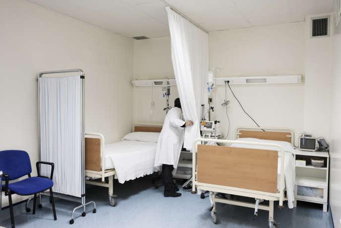 La clinique El Bosque, le 16 janvier 2014, située à Madrid, dans le quartier résidentiel excentré d'Hortaleza.