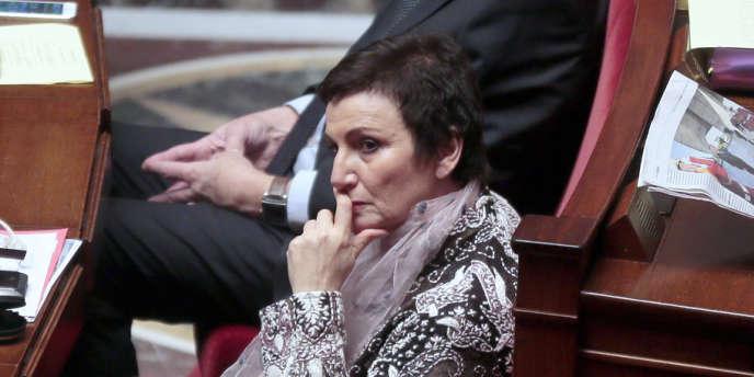 Dominique Bertinotti avance prudemment sur ces sujets d'affrontements avec la droite. Ici, à l'Assemblée le 17 décembre 2013.