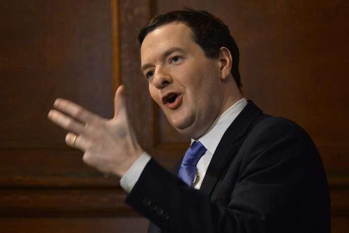 Le chancelier de l'Echiquier, George Osborne, à Londres, mercredi 15 janvier.