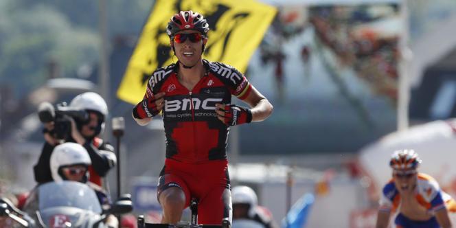 Le cycliste Alessandro Ballan, ici lors du Eneco Tour le 12 août 2012, a été suspendu deux ans par le Comité olympique italien pour prise de produits dopants.
