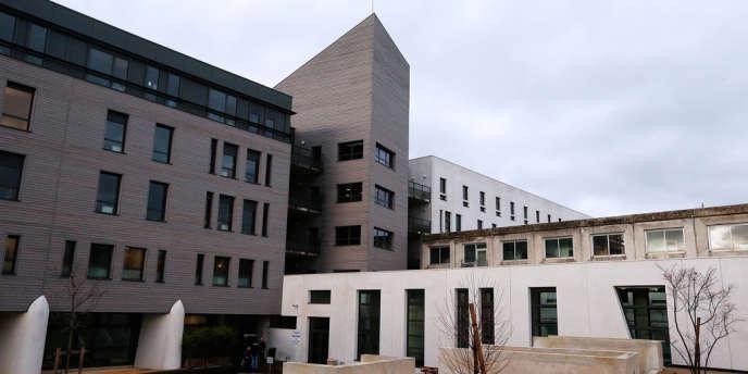 L'hôpital Sébastopol de Reims, où est soigné Vincent Lambert depuis cinq ans.