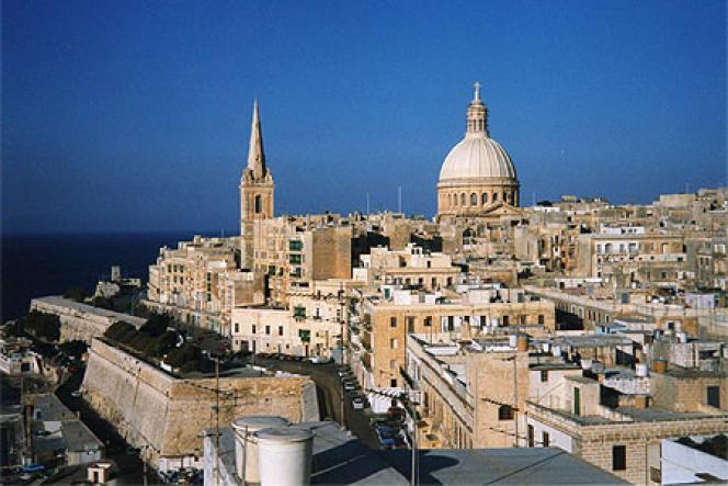 La Valette, capitale de malte.