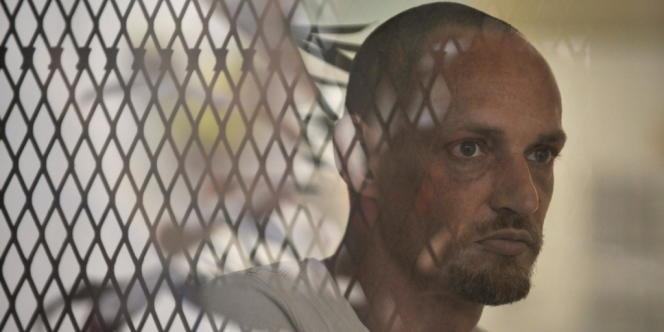 Le Français Michaël Blanc (ici en avril 2011) avait été arrêté le lendemain de Noël 1999 à l'aéroport de l'île indonésienne de Bali avec 3,8 kilos de haschich dans deux bouteilles de plongée.