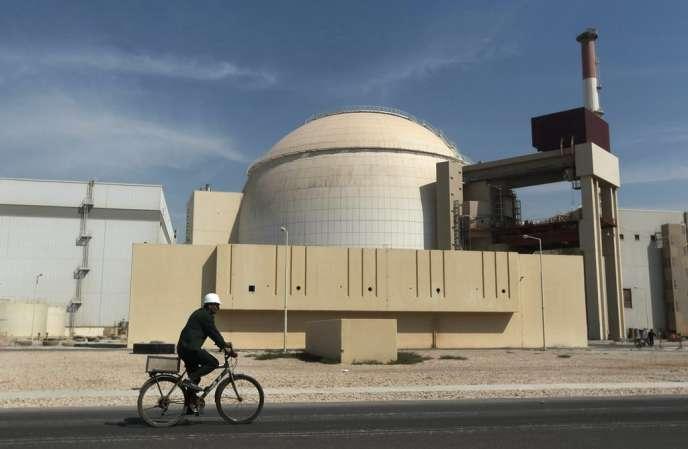 La centrale nucléaire deBushehr, en Iran, en 2010.