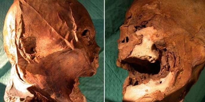 La tête présumée d'Henri IV.