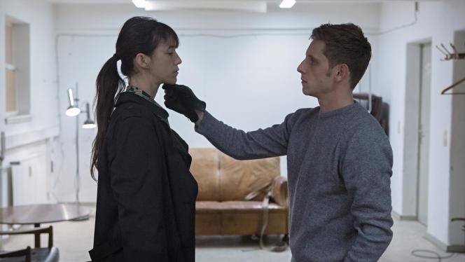 Charlotte Gainsbourg et Jamie Bell dans le film danois, allemand, français et belge de Lars von Trier,
