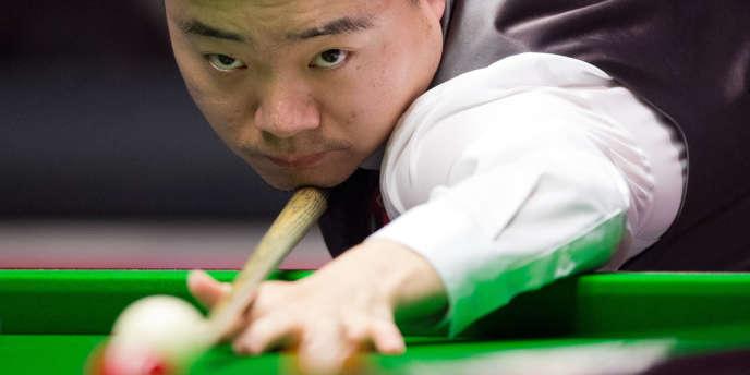 Ding Junhui est la vedette chinoise du snooker.
