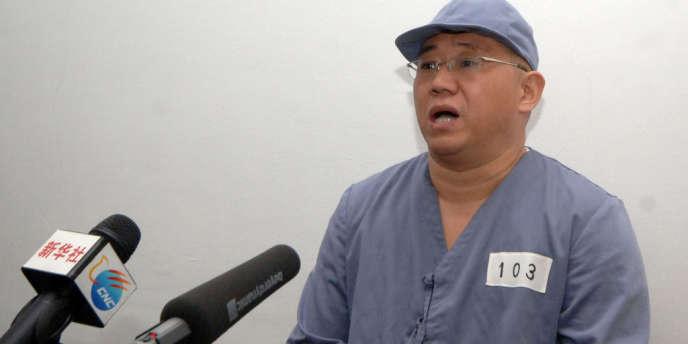 Responsable d'un voyagiste, Kenneth Bae, âgé de 45 ans, avait été arrêté le 3 novembre 2012 dans la ville portuaire de Rason en possession d'un visa de tourisme.