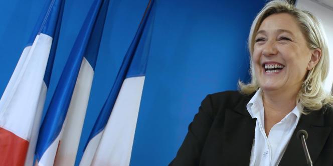 La présidente du Front national, Marine Le Pen, le 7 janvier 2014.