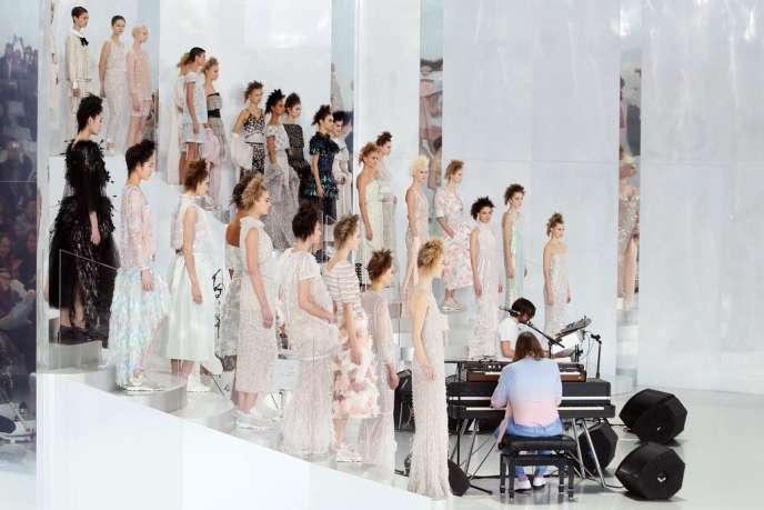 Défilé Chanel, le 21 janvier à Paris.