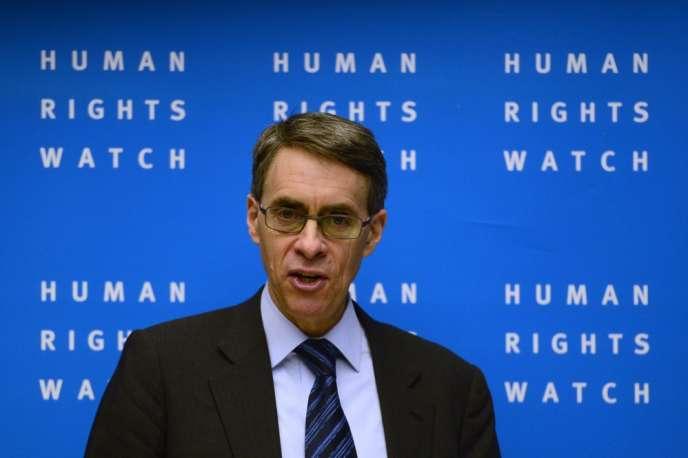 Kenneth Roth, directeur exécutif de Human Rights Watch, le 21 janvier à Berlin.