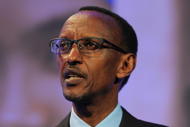 Paul Kagamé, en 2012 à Londres.