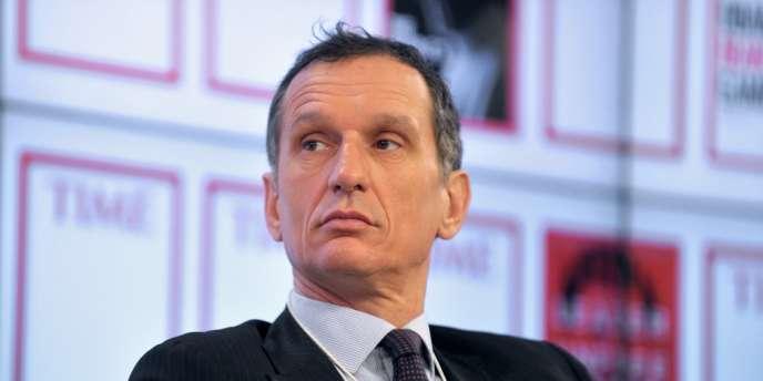 Giuseppe Recchi, PDG de Eni, le 22 janvier, à Davos.
