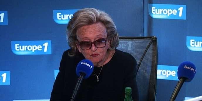 Bernadette Chirac, le 22janvier2014.