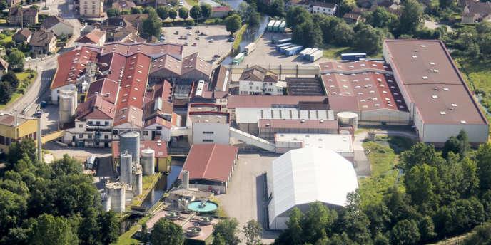 Site de l'usine, à Docelles (Vosges), en 2010.