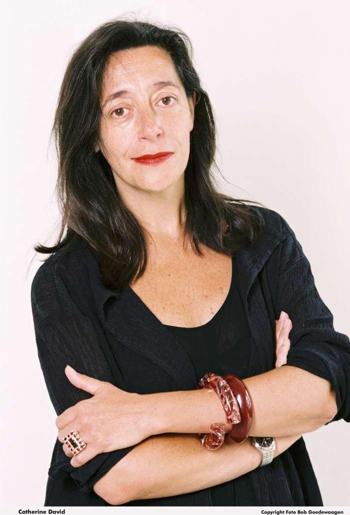 Catherine David, la nouvelle directrice adjointe du MNAM au Centre Pompidou.
