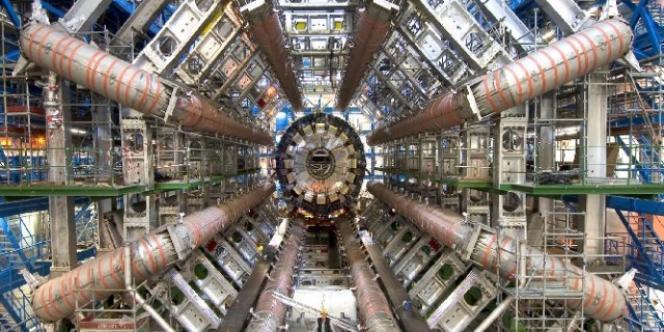 L'accélérateur de particules du CERN de Genève.