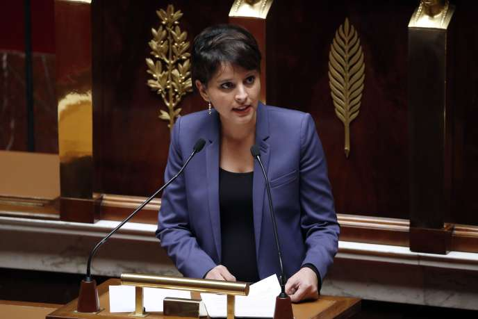 La ministre de l'éducation nationale, Najat Vallaud-Belkacem, en 2014.