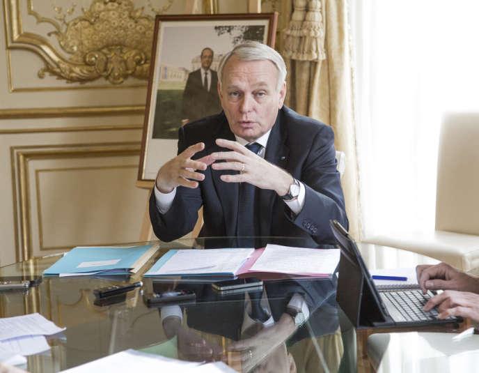 Politique. Jean-Marc Ayrault le 23 janvier 2014.