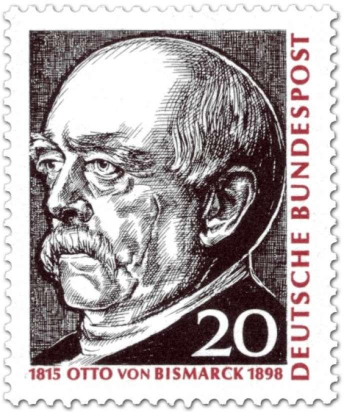 Bismark initie une politique sociale préfigurant