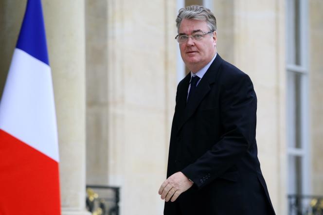 Jean-Paul Delevoye, actuel haut commissaire à la réforme des retraites, en janvier 2014, à l'Elysée.
