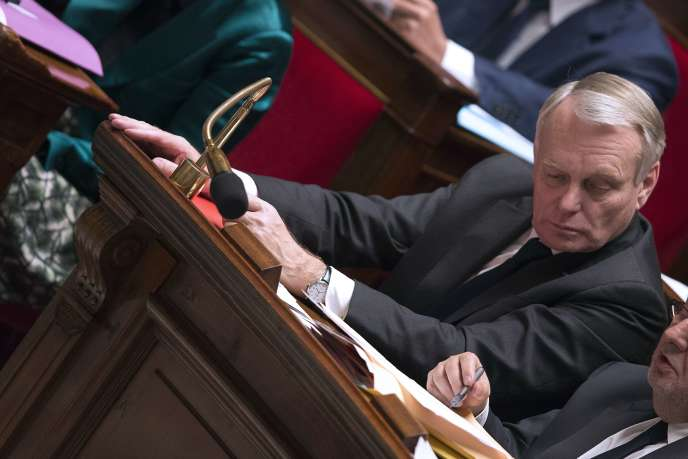 Jean-Marc Ayrault à l'Assemblée nationale, le 21 janvier.