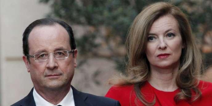 L'Elysée a annoncé samedi 25 janvier la séparation de François Hollande et Valérie Trierweiler.