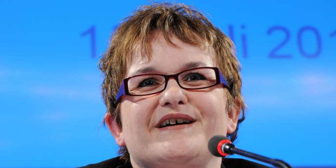 Sabine Lautenschläger est juriste de formation, spécialiste de la supervision bancaire.