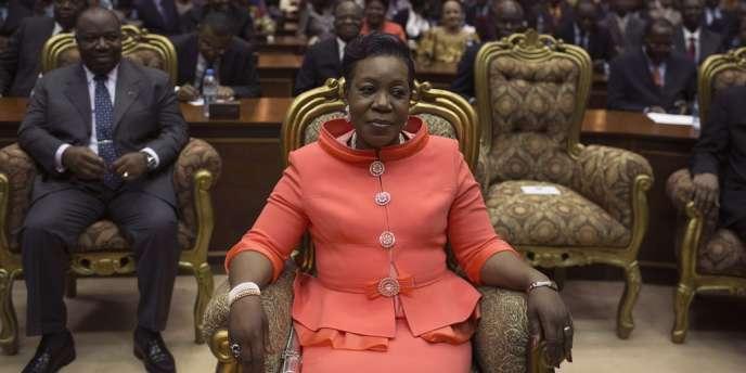 Catherine Samba-Panza, la nouvelle présidente de transition de la République centrafricaine.