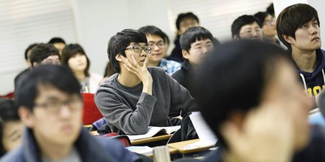 En 2013, le chômage a touché 9,6 % des Coréens du Sud de moins de 25 ans, contre 3,7 % de la population active. Photo: Lee Jae Won / Reuters