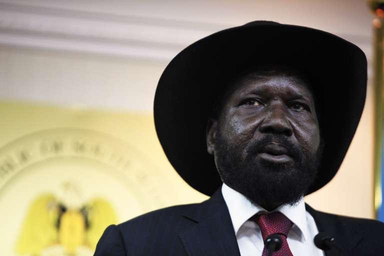 Le président sud-soudanais Salva Kiir, en janvier 2014.